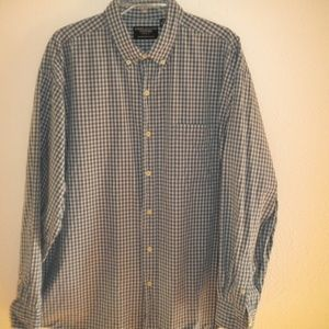 American Eagle Men Size XL Plaid Long Sleeve Shirt